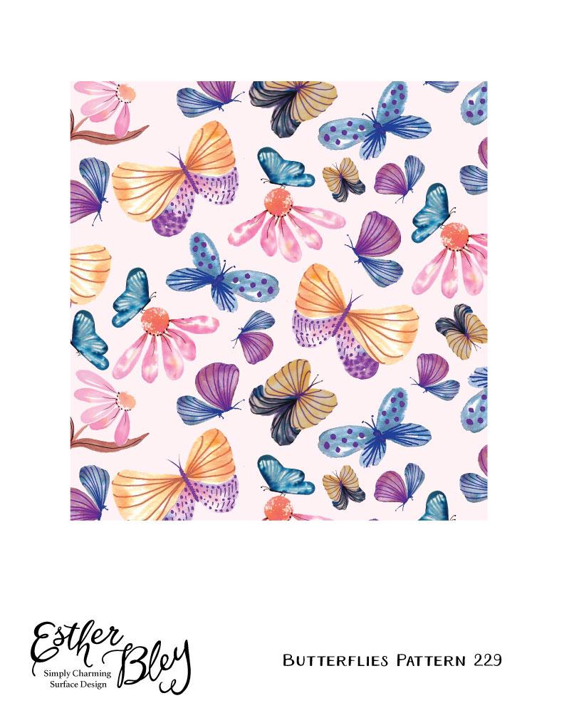 butterfliespattern